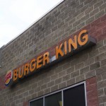 Burger King Sign Installation in New Jersey