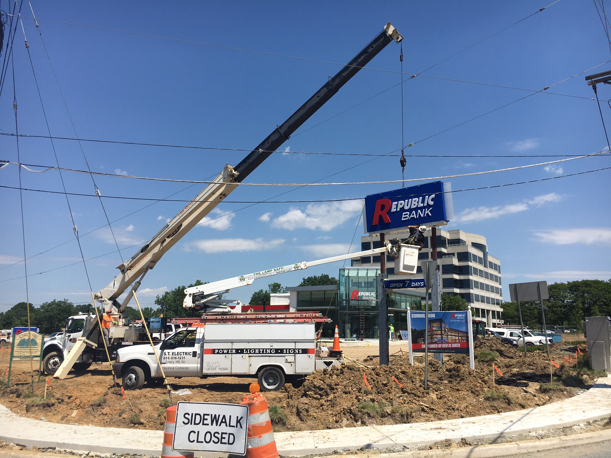 Cherry Hill Nj Sign Installation Amp Electrical Contractor